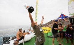 Nelson Flores proclaims world champion in Galdar, Gran Canaria
